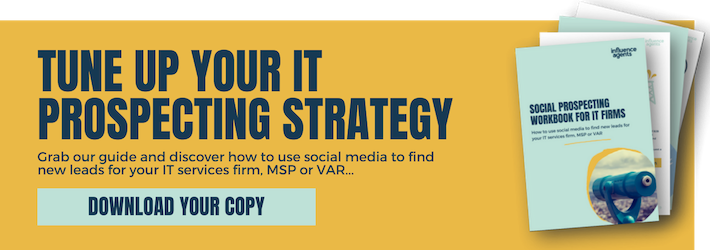 Social prospecting workbook for IT firms
